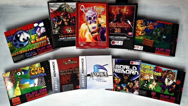 NEW GAMES for OLD Consoles - SNES / NES / Genesis / GBA