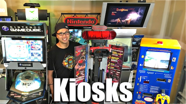 VIDEO GAME KIOSKS - Extreme Collecting!