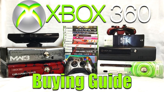 XBOX 360 BUYING GUIDE & Great Games