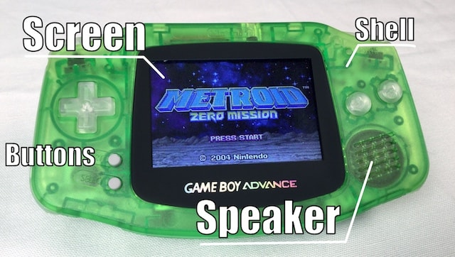 Ultimate GBA (GameBoy Advance) - Modded to Perfection