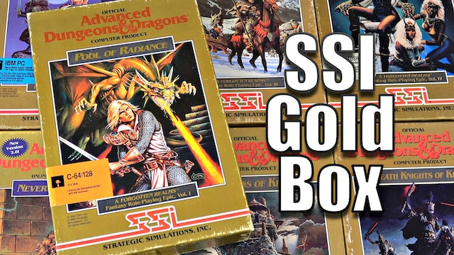 SSI Gold Box RPGs - 14 Games from the Golden Age
